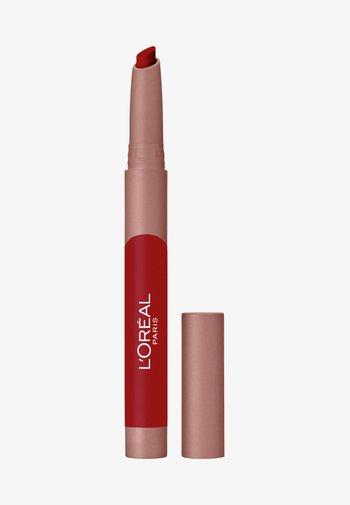 INFAILLIBLE MATTE LIP CRAYON - Lipstick - a little chili