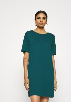 Jersey dress - deep teal