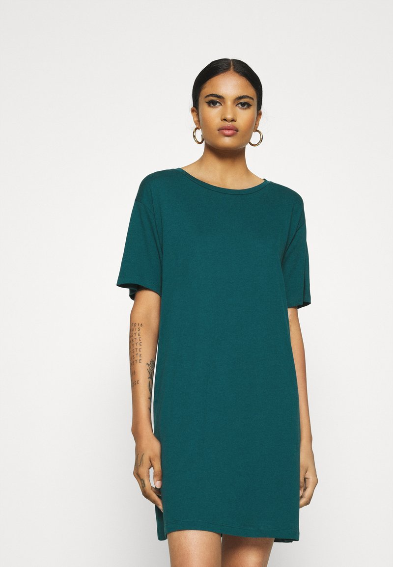 Even&Odd - Jersey dress - deep teal
