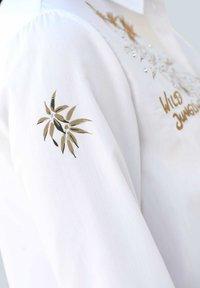 Alba Moda - Button-down blouse - weiß,beige - 7