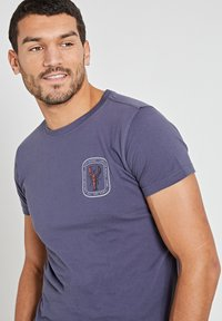 Shiwi - LOBSTER - Print T-shirt - dusty anthracite grey - 3