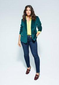 Violeta by Mango - VALENTIN - Slim fit jeans - dunkelblau - 1