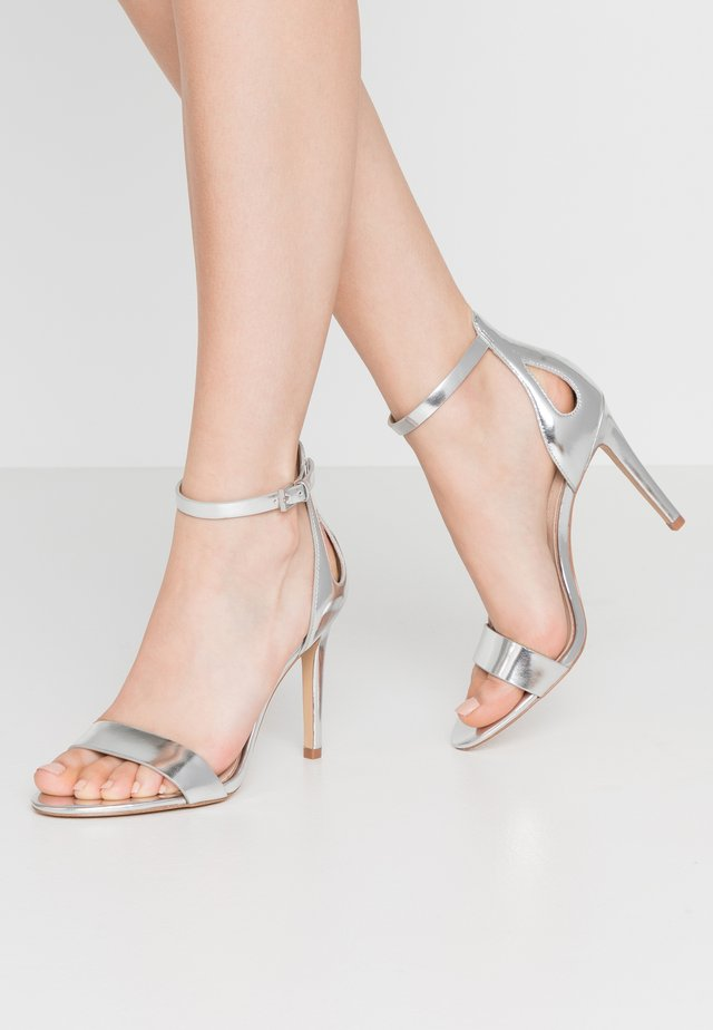 VIOLLA - High heeled sandals - silver