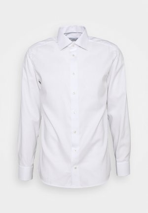 FINE DOTTED WEAVE SHIRT - Formal shirt - white