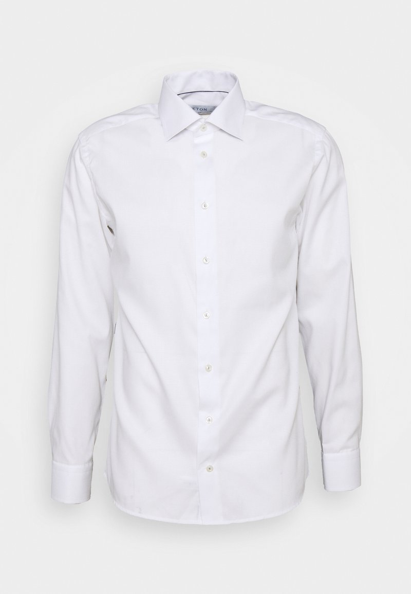 Eton - FINE DOTTED WEAVE SHIRT - Formal shirt - white