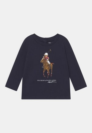 BEAR TEE - Maglietta a manica lunga - hunter navy