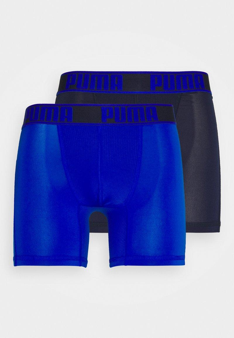 Puma - ACITVE BOXER 2 PACK - Underkläder - blue combo