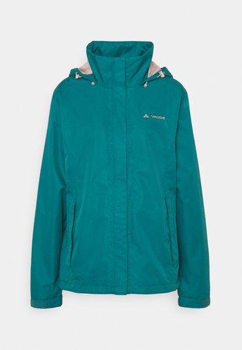 WOMANS ESCAPE LIGHT JACKET - Waterproof jacket - blue sapphire