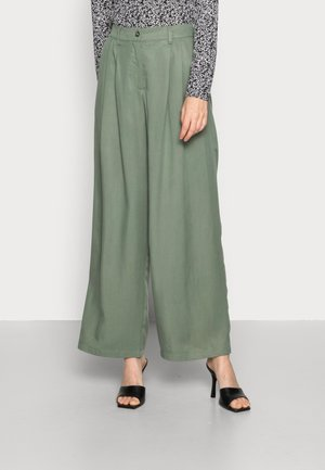 ALIVIA STEPHIE PANTS - Trousers - agave green