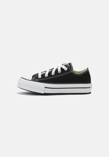 CHUCK TAYLOR ALL STAR PLATFORM UNISEX - Sneakers laag - black/natural ivory/white