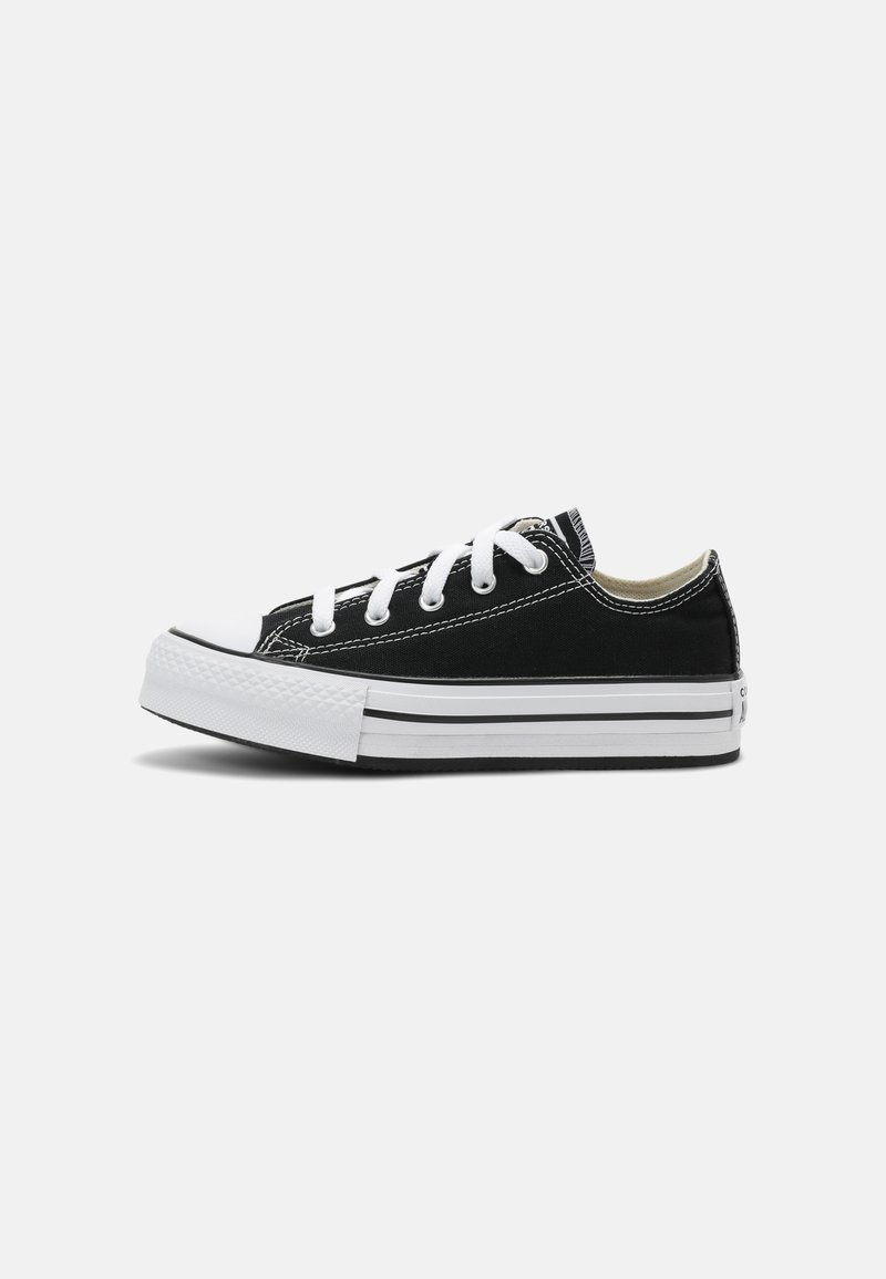 Converse - CHUCK TAYLOR ALL STAR PLATFORM UNISEX - Sneaker low - black/natural ivory/white