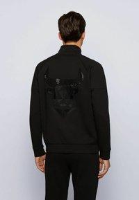 BOSS - Sweater met rits - black - 2