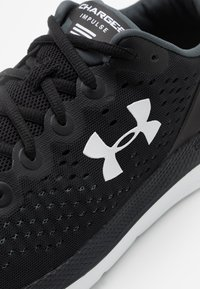 Under Armour - CHARGED IMPULSE - Zapatillas de running neutras - white/pink quartz/mod gray - 5