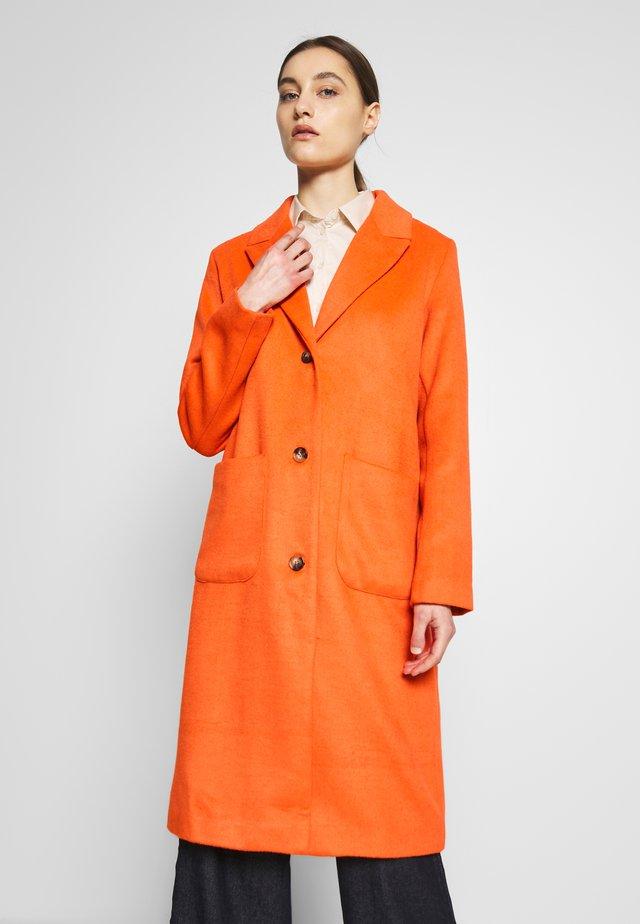 VENICE - Classic coat - red orange