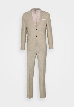 SLHSLIM SUIT - Kostym - sand