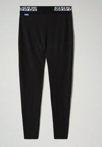 Napapijri - M-BOX LEGGINGS - Leggings - Trousers - black - 6