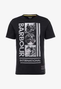 Barbour International - MONO TEE - Print T-shirt - black - 3