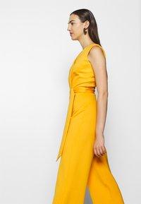 Closet - D RING WRAP - Jumpsuit - yellow - 5
