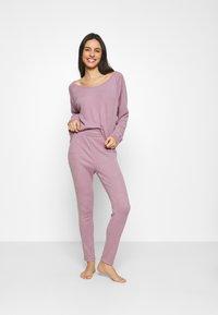 GAP - FOLDOVER  - Pyjamabroek - elderberry - 1