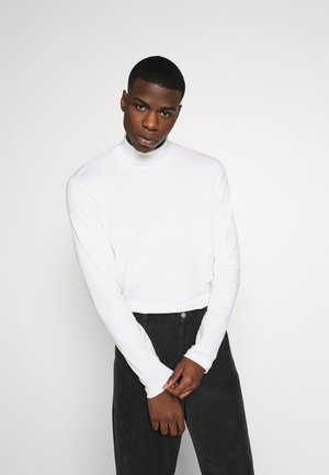 JPRBLARAY ROLL NECK - Maglietta a manica lunga - white
