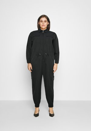 UTILITY - Jumpsuit - black/white