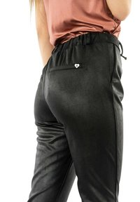 PLEASE - Trousers - noir - 3