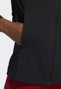 adidas Performance - BADGE OF SPORT JACKET - Treningsjakke - black - 3