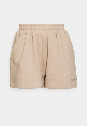 WILLIE EMBROIDERED - Shorts - sand