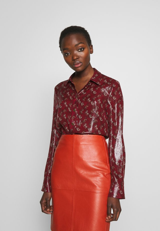 LUNAR NEW YEAR HORSE CARRIAGE - Camicia - red