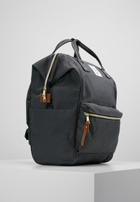 anello - TOTE BACKPACK COLOR BLOCK LARGE UNISEX - Rucksack - grey - 3