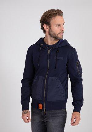 RANGER - veste en sweat zippée - navy