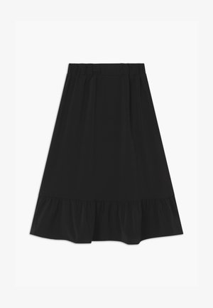 NKFVINAYA - Maxi skirt - black
