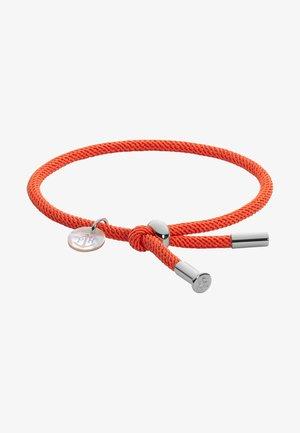 Armband - coral/silber