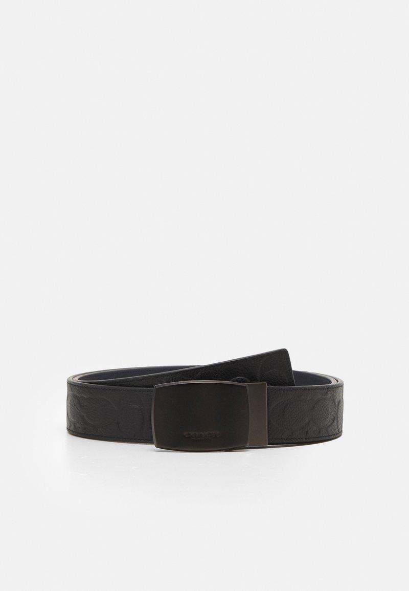 Coach - PLAQUE BELT - Belt - black