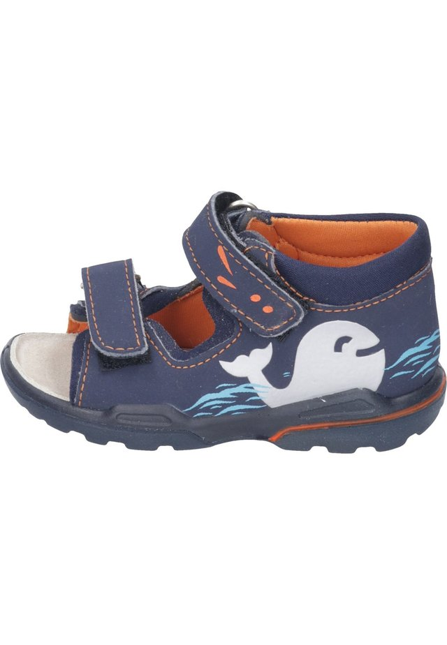 Walking sandals - nautic/ocean