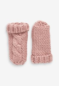 Next - CABLE  SET - Beanie - pink - 2