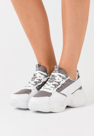 Baskets basses - antracite/grey/white