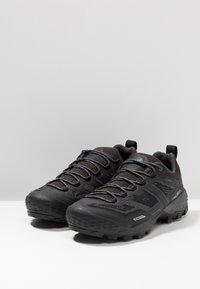 Mammut - DUCAN - Hiking shoes - black/dark titanium - 2