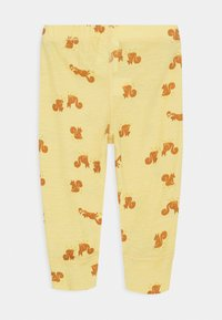 Lindex - BABY WOOL PRINT UNISEX - Leggings - Trousers - dusty yellow - 1