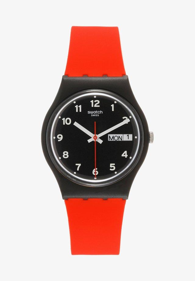 RED GRIN - Uhr - black