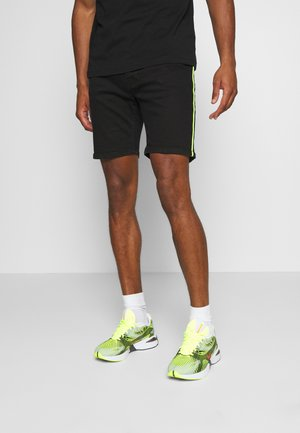 FLETCHCORDN - Denim shorts - charcoal wash