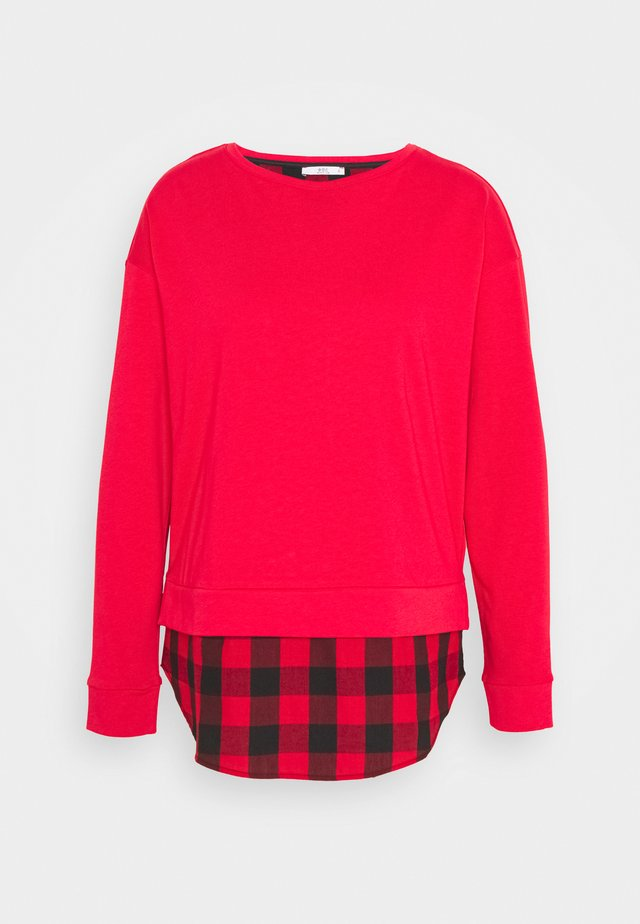 MIX - Sweatshirt - red