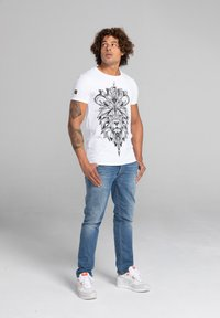 Liger - LIMITED TO 360 PIECES - LUCKY DUBZ - ORIGAMI - Print T-shirt - white - 1