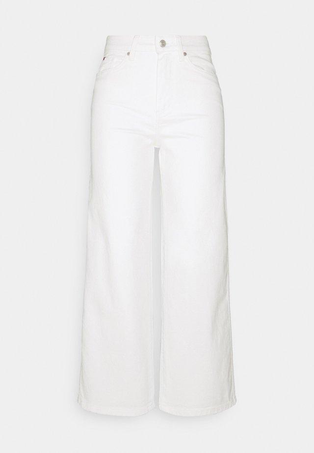 WIDE LEG - Široké džíny - ecru