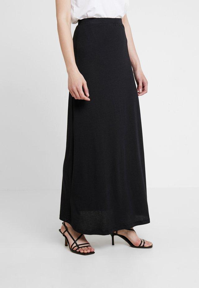 Falda larga - black