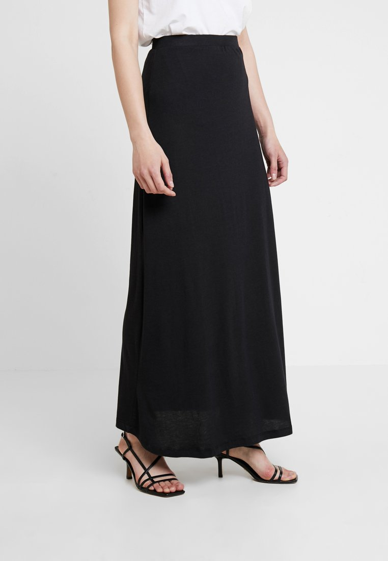 Zalando Essentials - Maxi skirt - black