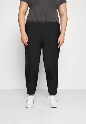 PANT TREND PLUS - Pantalon de survêtement - black/white