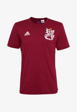 FEF TEE - National team wear - bordeaux
