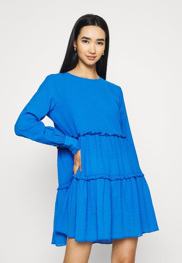 JDYLEA SHORT DRESS  - Day dress - strong blue
