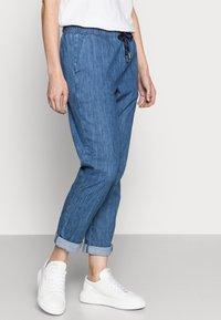 Rich & Royal - LIGHT PANTS - Trousers - denim blue - 3